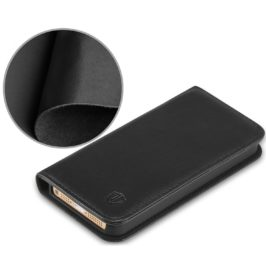 iPhone 5 Wallet Case, iPhone 5S Wallet Case, iPhone SE Wallet Case - Black