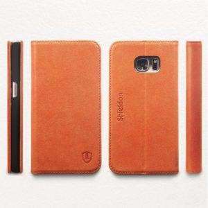 SAMSUNG Galaxy S7 Case, SAMSUNG S7 Case - Brown