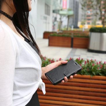 iPhone 7 Plus - SHIELDON Leather Wallet Case
